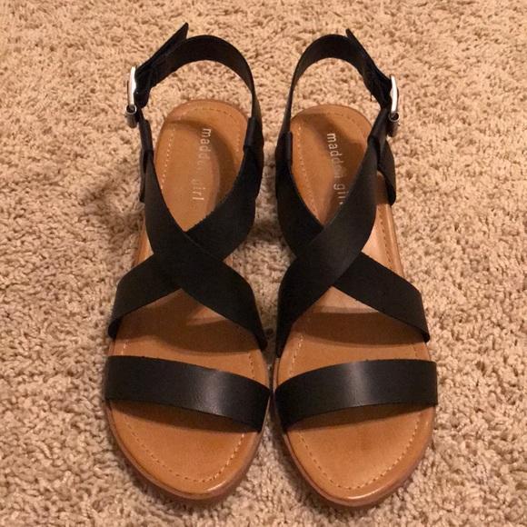 d00c48a0a56 Madden Girl Shoes   Sandals Tulum Black   Poshmark